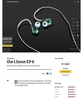 the t.bone EP 6