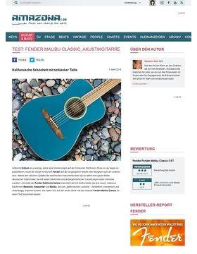 Fender Malibu Classic