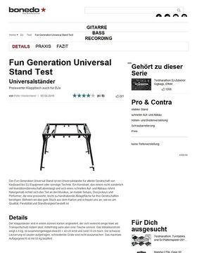 Fun Generation Universal Stand