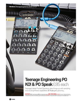 Teenage Engineering Po KO! And PO Speak