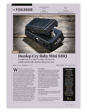 Cry Baby Mini 535Q Wah