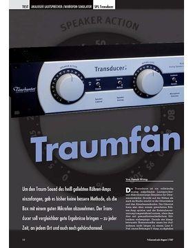 Traumfänger SPL Transducer