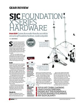 SJC Foundation X Series Hardware