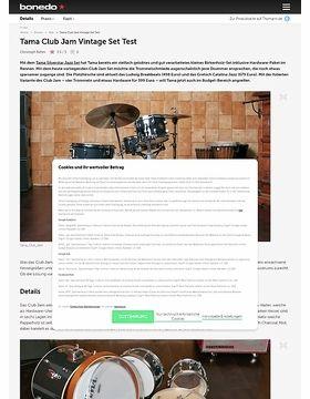 Tama Club Jam Vintage Set