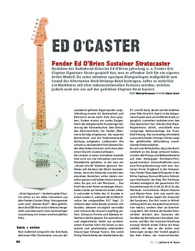 Fender Ed O'Brien Sustainer Stratocaster