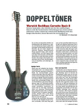 RB Corvette Basic 8-String