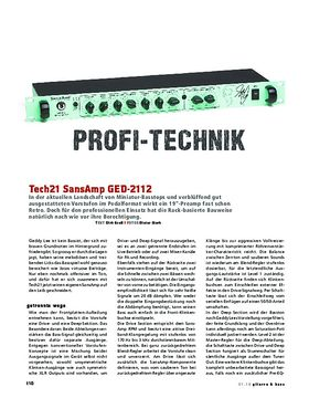 Tech21 SansAmp GED-2112