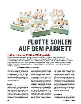 Höfner Limited Edition Effektpedale