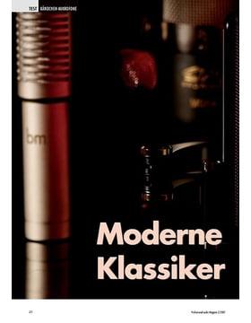 Moderne Klassiker: Bändchen Mikrofone