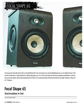 Focal Shape 65