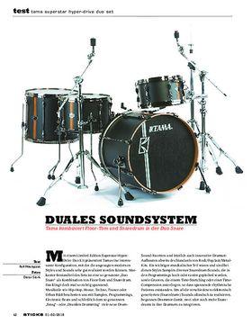 Tama Superstar Hyper-Drive Duo Set
