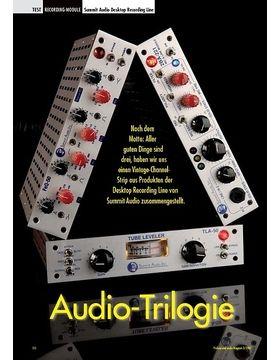 Audio-Trilogie: Summit Audio Desktop Recording Line