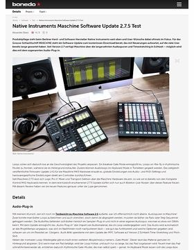 Native Instruments Maschine Software Update 2.7.5