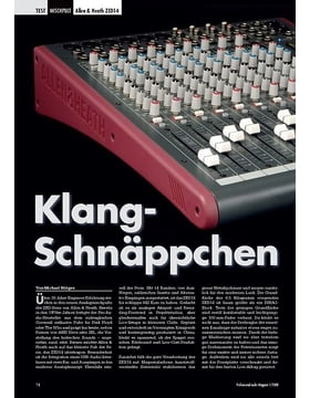 Klang- Schnäppchen Allen & Heath ZED14