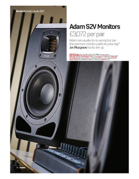 Adam S2V Monitors