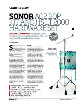 Sonor AQ2 Bop Kit and HS LT 2000 Hardware Set