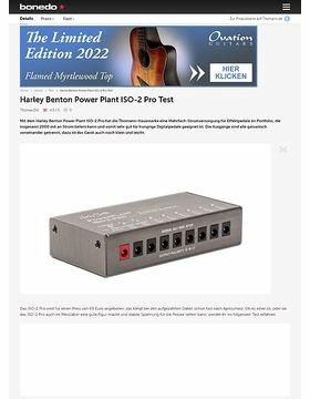 Harley Benton Power Plant ISO-2 Pro
