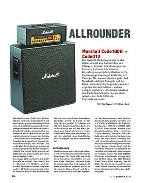 Marshall Code100H und Code412