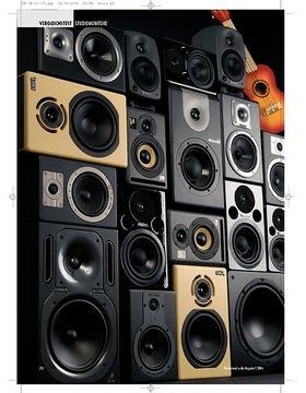 Standhafte Klangmauer: Nahfeldmonitore