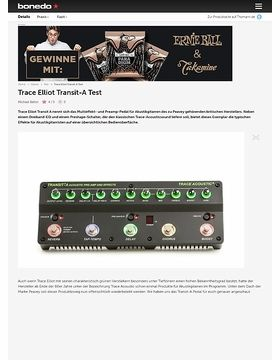Trace Elliot Transit-A