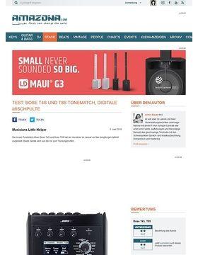 Bose T4S und T8S ToneMatch