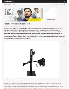 Marantz Professional Turret