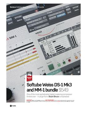 Softube Weiss DS-1 Mk3 and MM-1 bundle
