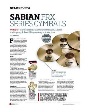 Sabian FRX Series Cymbals