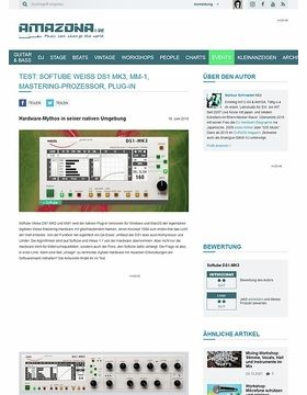 Softube Weiss DS1 MK3, MM-1
