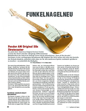 Fender AM Original 50s Stratocaster
