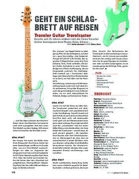 Traveler Guitar Travelcaster