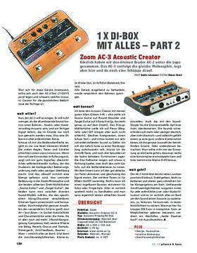 Zoom AC-3 AcousticCreator