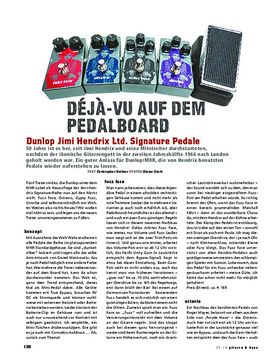 Dunlop Jimi Hendrix Ltd. Signature-Pedale