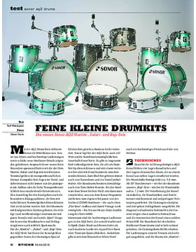 Sonor AQ2 Drums