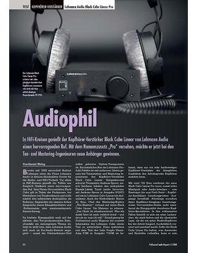 Audiophil Lehmann Audio Black Cube Linear Pro