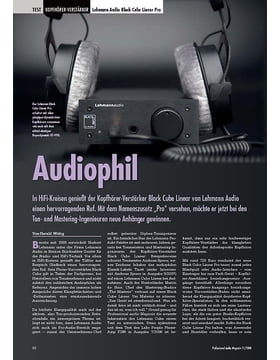 Audiophil Lehmann Audio Black Cube Linear Pro