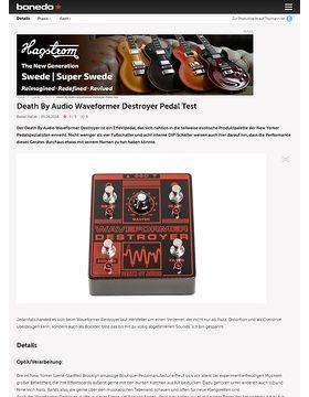 Death By Audio Waveformer Destroyer Pedal