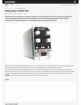 Bettermaker C502V