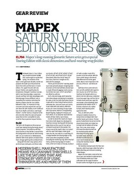 Mapex Saturn V Tour Edition Series