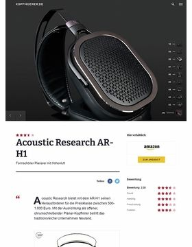 Acoustic Research AR-H1