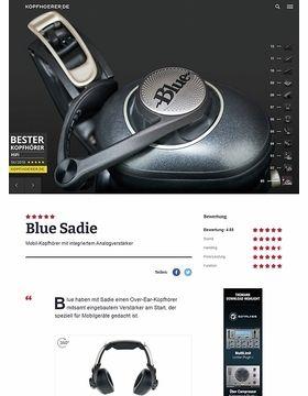 Blue Sadie