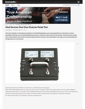Mod Devices Mod Duo Modular Pedal