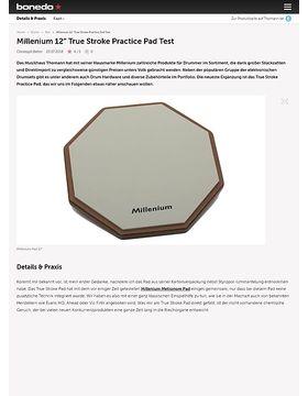 """Millenium 12"""" True Stroke Practice Pad"""