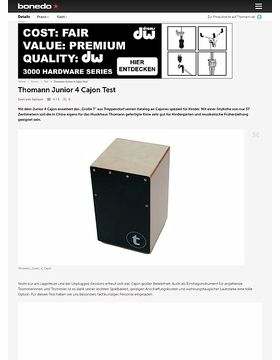 Thomann Junior 4 Cajon