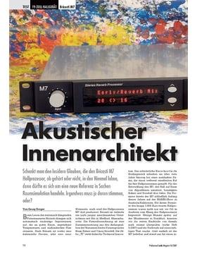 Akustischer Innenarchitekt Bricasti M7
