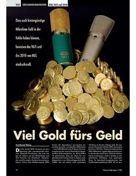 Viel Gold fürs Geld: MXL V67i und 2010