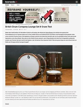 British Drum Company Lounge Set & Snare