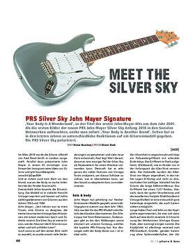 John Mayer Silver Sky Horizon