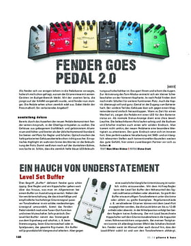 Fender All-Original Effektpedale