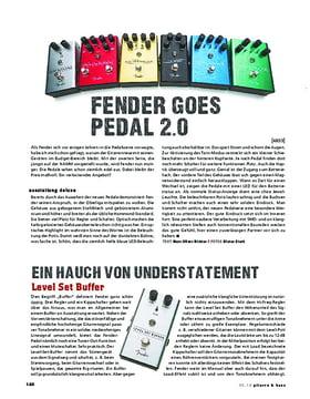 Fender All-Original Effektpedale